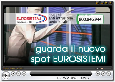 VISTO IN TV - GUARDA IL NUOVO SPOT EUROSISTEMI